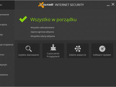 Aktualizacja oprogramowania avast! (9.0.2013)