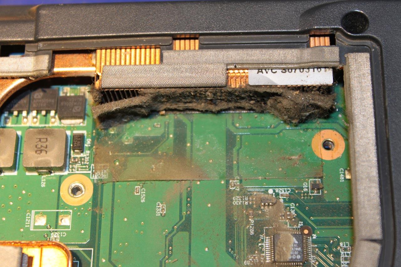 Czyszczenie laptopa v3515