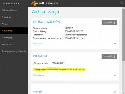 Avast 2015 (10.0.2206) został wydany!