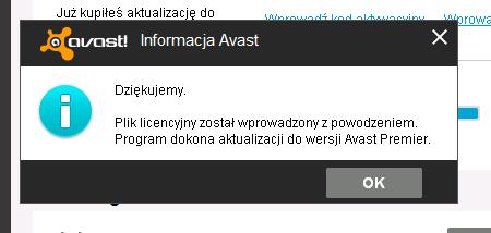 kod licencyjny avast