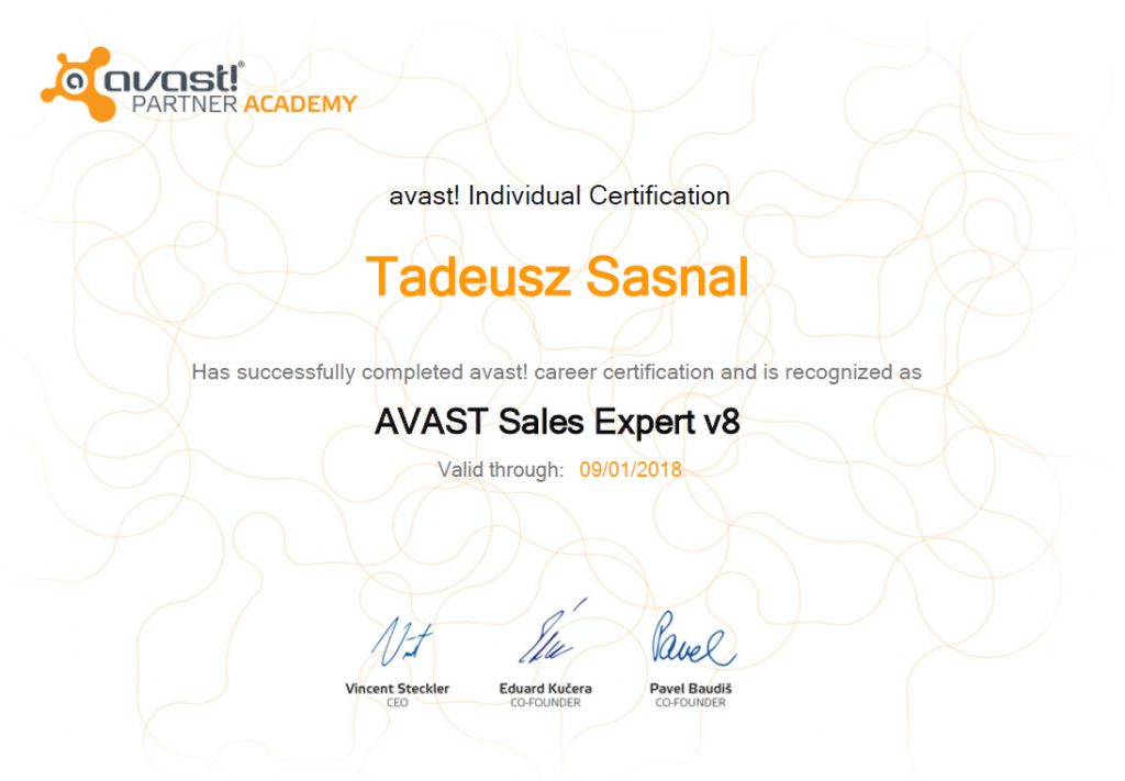 Avast Sales Expert
