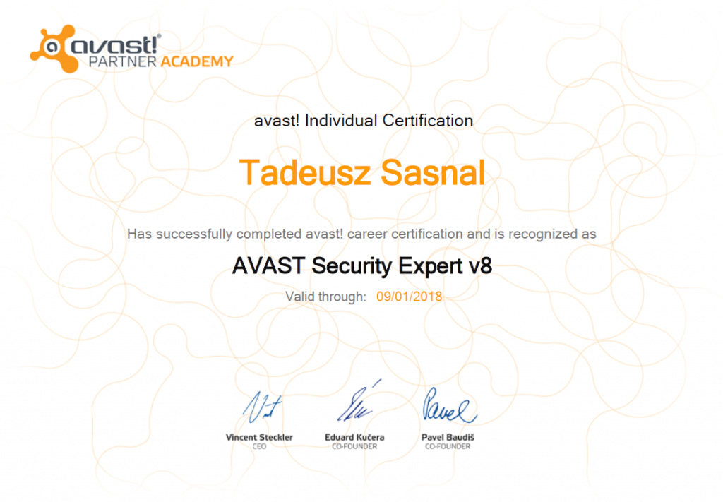 Avast Security Expert