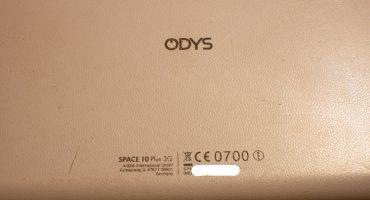 Wymiana digitizera (dotyku) w tablecie Odys Space 10 Plus 3G